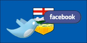 Do Twitter or Facebook Followers Predict Alberta Election Results?