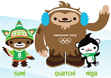 Your 2010 Olympic Mascots!
